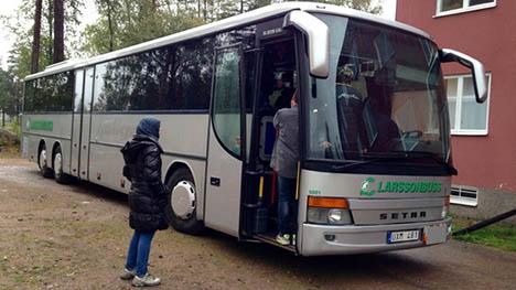 Refugees refuse beds at Swedish holiday park