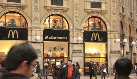 McDonald's accused of tax evasion in Italy
