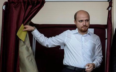 Turkish PM's son denies fleeing to Italy