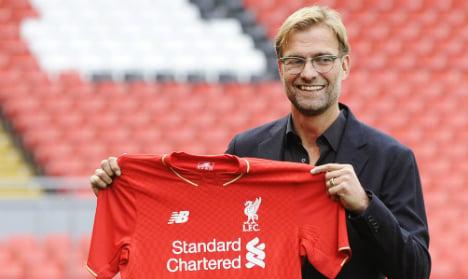 Klopp meets press as new Liverpool boss