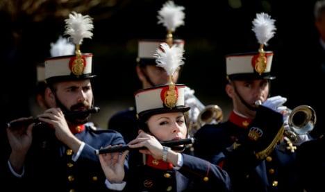 Lost for words? Composer writes lyrics for Spain's national anthem