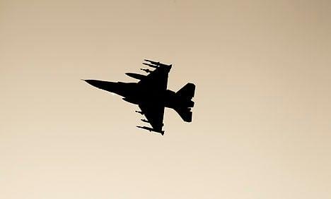 Danish F-16 crashes into North Sea