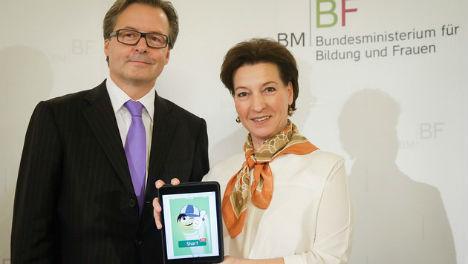 New German language app for refugee kids