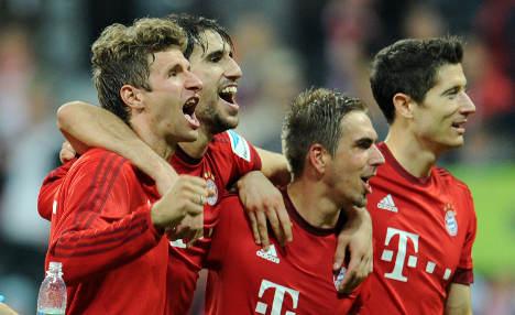 Bayern thrash Dortmund to send rivals message