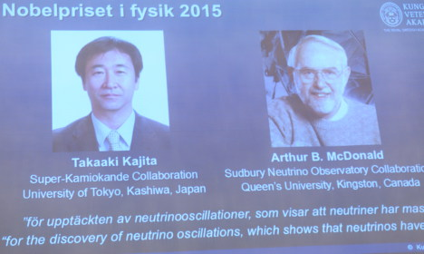 Who are the 2015 Nobel Physics winners?