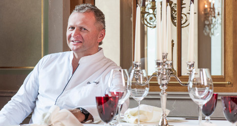 Basel chef Peter Knogl gains third Michelin star