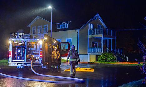 Danish MP: Swedish asylum fires 'expected'