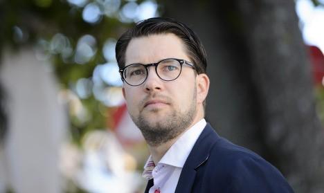 Åkesson: 'Stay away, refugees, Sweden is full'