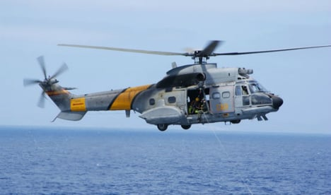 Cabin of crashed military helicopter found as search continues for crew