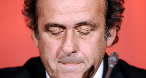 Uefa stands by Platini after Fifa suspension