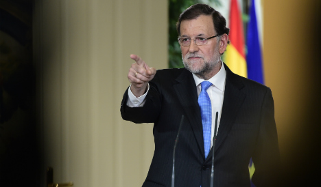 PM vows 'all political, legal means' to block Catalan independence bid