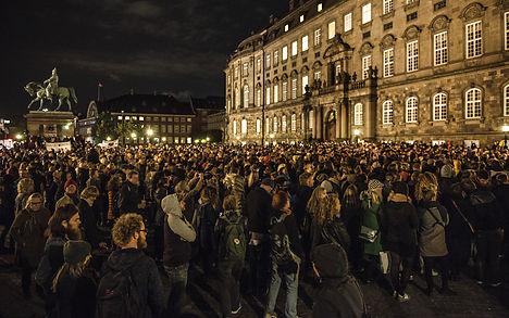 Danes demand 'decent treatment' of refugees