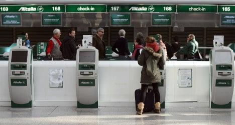Rome fire burns into Alitalia turnaround cash