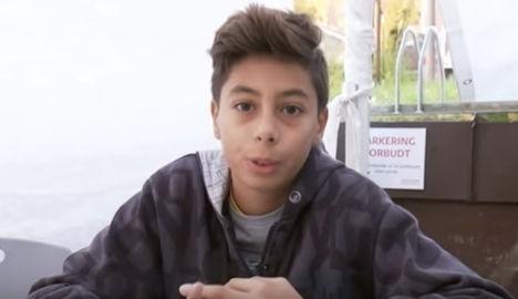 Syrian boy speaks Norwegian after 20 days