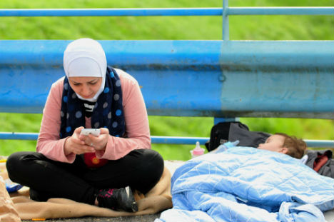 Tech whizzes create apps to help refugees