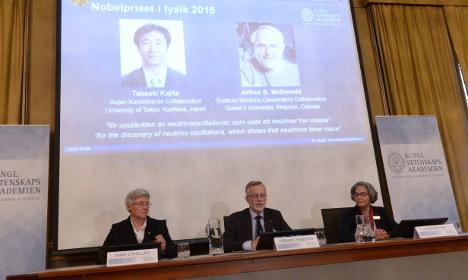 BLOG: Sweden's Nobel Prize in Physics 2015