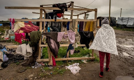 Calais refugee camp on the 'brink of collapse'