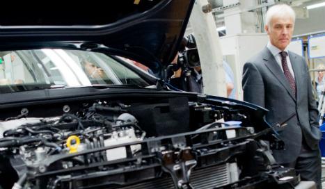 Newer diesel engines didn't cheat tests: VW