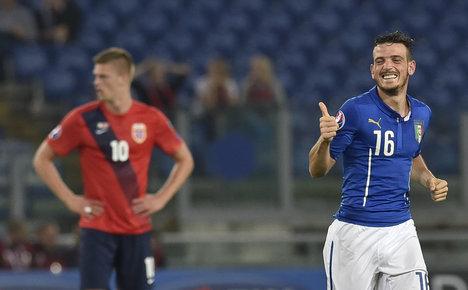 Florenzi inspires Italy in Norway fightback