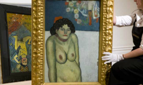 Picasso's morose masterpiece with a hidden secret to go up for auction