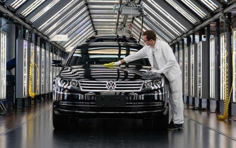 VW increases German sales, despite scandal