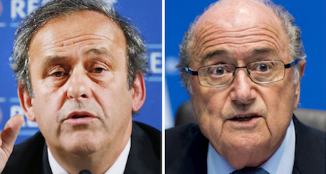 Platini cites 'man to man' pay deal with Blatter