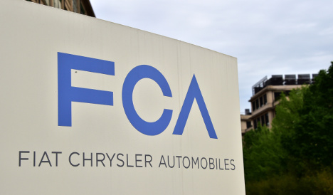 Fiat Chrysler loses €299 million in third quarter
