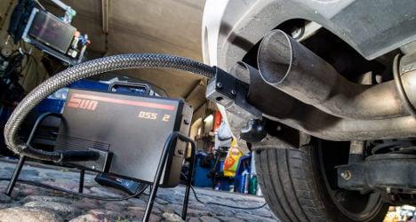 Switzerland slaps VW cars with registration ban
