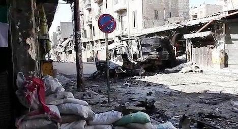 Crunch talks fail to halt Syrian war