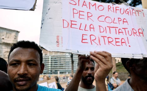 Sweden to take Italy's Eritrean refugees