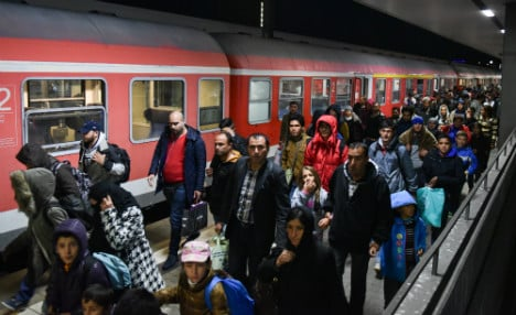 Majority of Germans worried about refugees