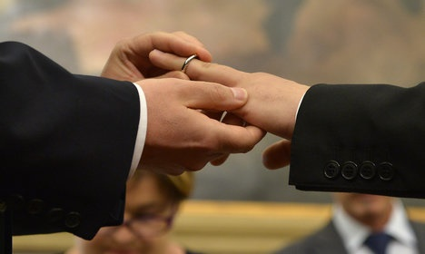'Gay marriages cannot be registered in Italy': court