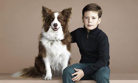Denmark's Prince Christian turns ten