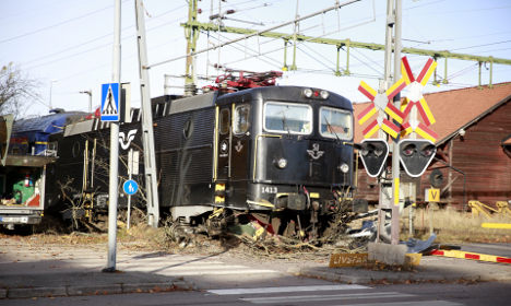 Runaway train sparks traffic chaos in Sweden