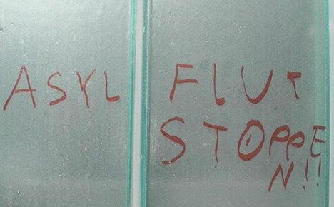Teen confesses to swastika graffiti
