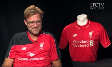 Klopp calls Liverpool deal 'dream move'