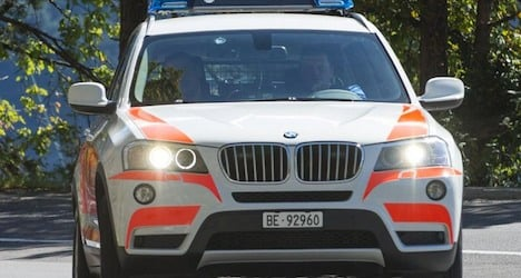 Speeding vehicle slams into three cop cars