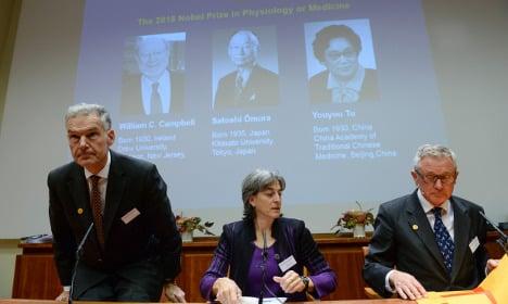 BLOG: Sweden's Nobel Prize in Medicine 2015