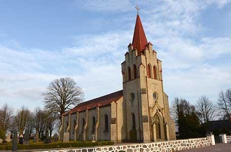 Swede turns one krona church into dream home
