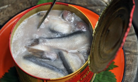 Swedish herring party sparks gas leak fears