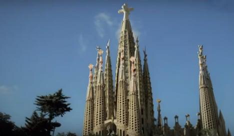 Central spire will make the Sagrada Familia tallest church in the world