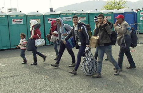 Styria braced for thousands of refugees