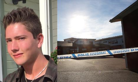 Who was Sweden's school sword killer?