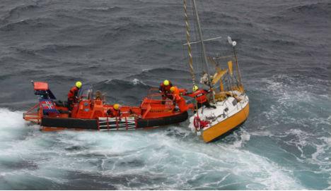 Norway lifeboat saves 82-yr-old yachtsman