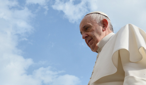 Pope says sorry for latest Vatican scandals