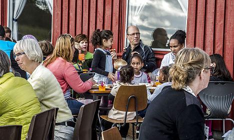 Refugee homes near Copenhagen hit by arson