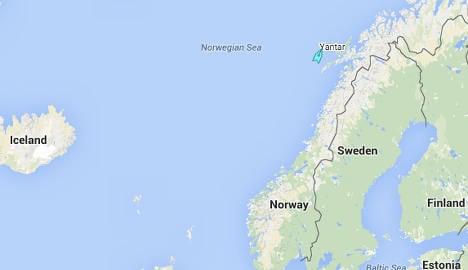 Russian spy ship off Norway's Lofoten Islands