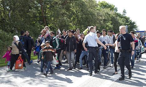 Denmark's refugee quota plan skips Copenhagen