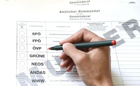 Symbolic vote held for Vienna's foreigners