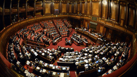 Senate to vote on own demise in coup for Renzi